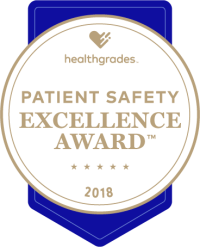 healthgrades patient safety excellence award 2018